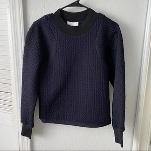 NWOT 3.1 Phillip Lim Arc Line Cable Sweatshirt M
